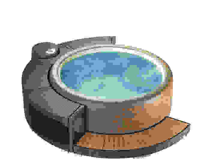 Softub Whirlpools: modern  von Softub,Modern