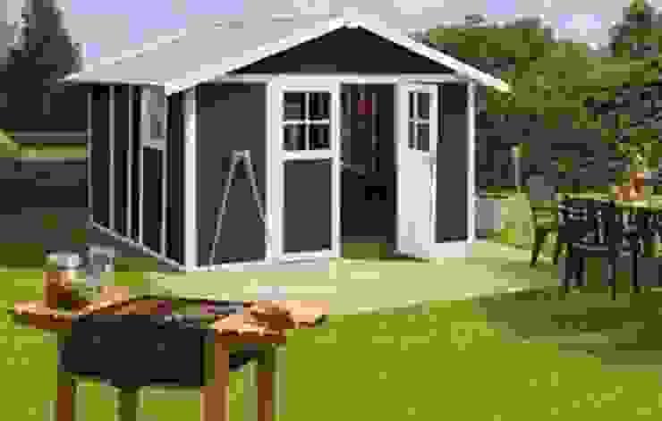 casetas y cobertizos para jardin y terraza de antas jardin s.l Rústico