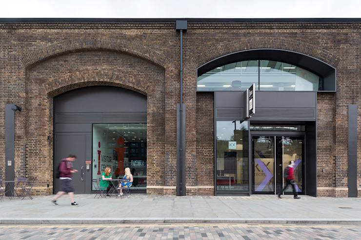 King's Cross Skills & Recruitment Centre Industrial style exhibition centres by Sonnemann Toon Architects Industrial