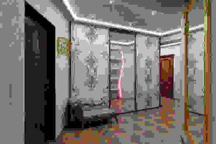 Classic corridor, hallway & stairs by Цунёв_Дизайн. Студия интерьерных решений. Classic