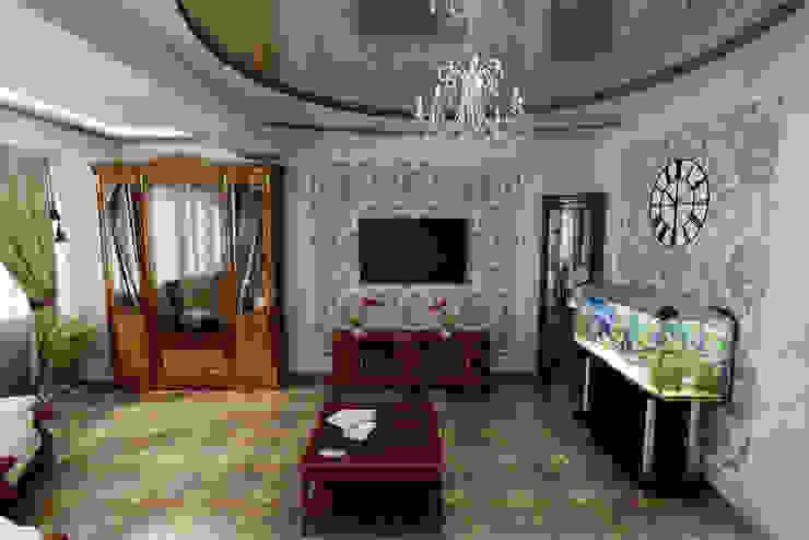 Klassische Wohnzimmer von Цунёв_Дизайн. Студия интерьерных решений. Klassisch