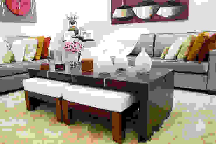 Salas de estilo minimalista de HAUS Minimalista
