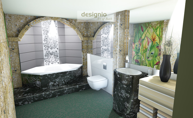 Eclectic style bathroom by Art of Bath Eclectic