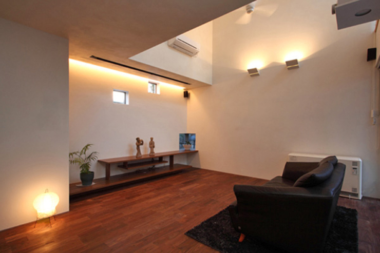 Livings modernos: Ideas, imágenes y decoración de アーキシップス京都 Moderno