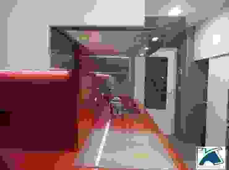 Diseño de Cocinas en Granada Cocinas de estilo moderno de Kansei Diseño y Decoración en la Cocina Moderno Cuarzo