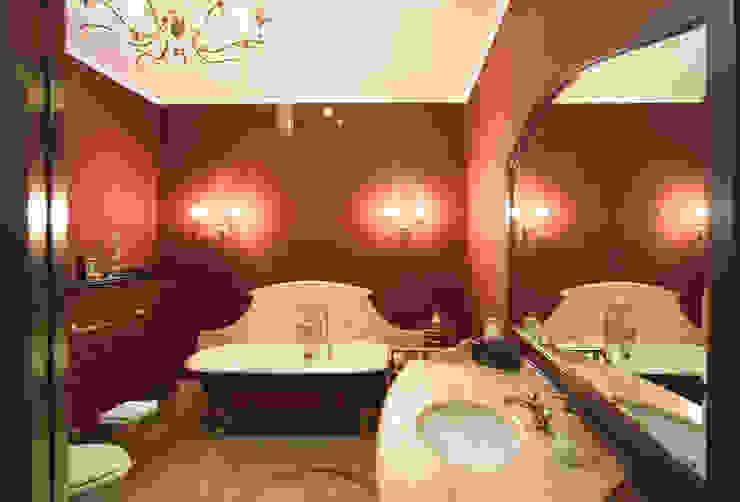 Интерьер квартиры в ЖК «Усадьба Трубецких» Ванная комната в стиле модерн от Дизайн-бюро «ПАПИЛЛОН» Модерн