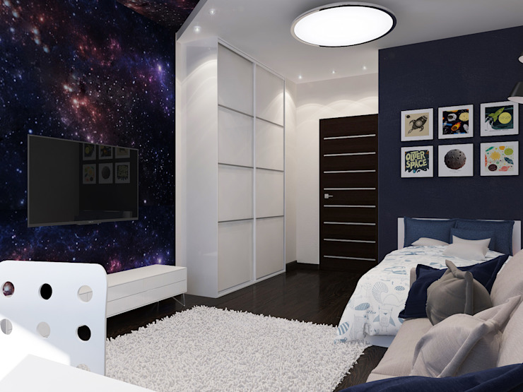 Дом в современном стиле Детская комнатa в стиле минимализм от Design Projects Минимализм