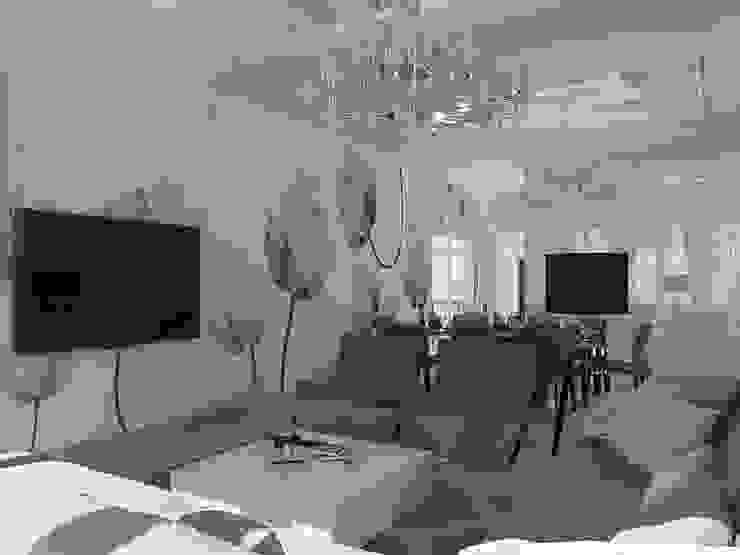 Дом в современном стиле Гостиная в стиле модерн от Design Projects Модерн