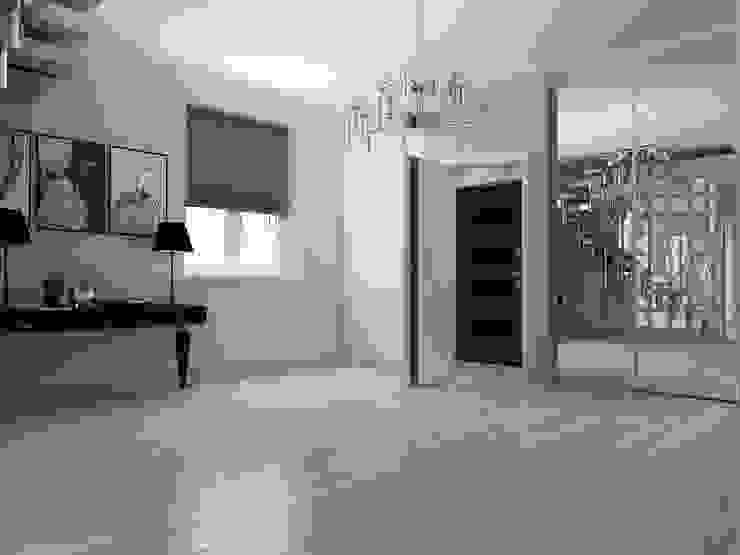 Дом в современном стиле Коридор, прихожая и лестница в модерн стиле от Design Projects Модерн