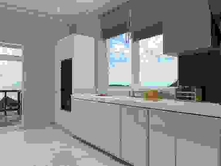 Дом в современном стиле Кухня в стиле минимализм от Design Projects Минимализм