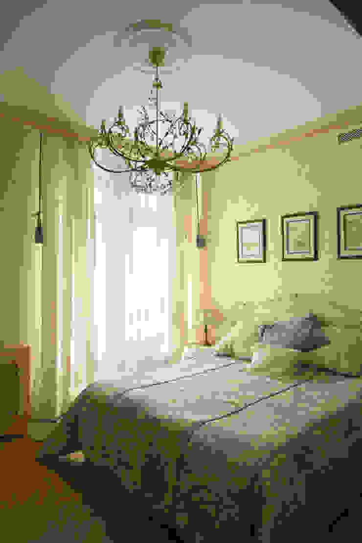 Интерьер квартиры в ЖК «Усадьба Трубецких» Спальня в стиле модерн от Дизайн-бюро «ПАПИЛЛОН» Модерн