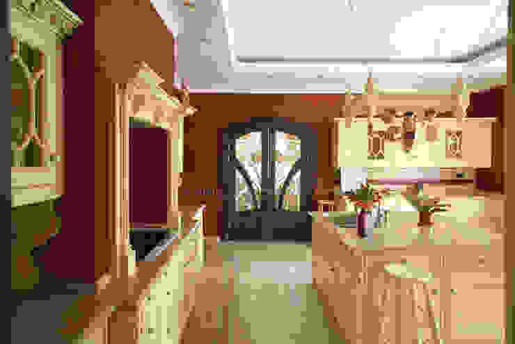 Интерьер квартиры в ЖК «Усадьба Трубецких» Кухня в стиле модерн от Дизайн-бюро «ПАПИЛЛОН» Модерн