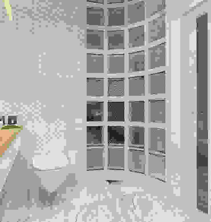 Дом в современном стиле Стены и пол в стиле модерн от Design Projects Модерн