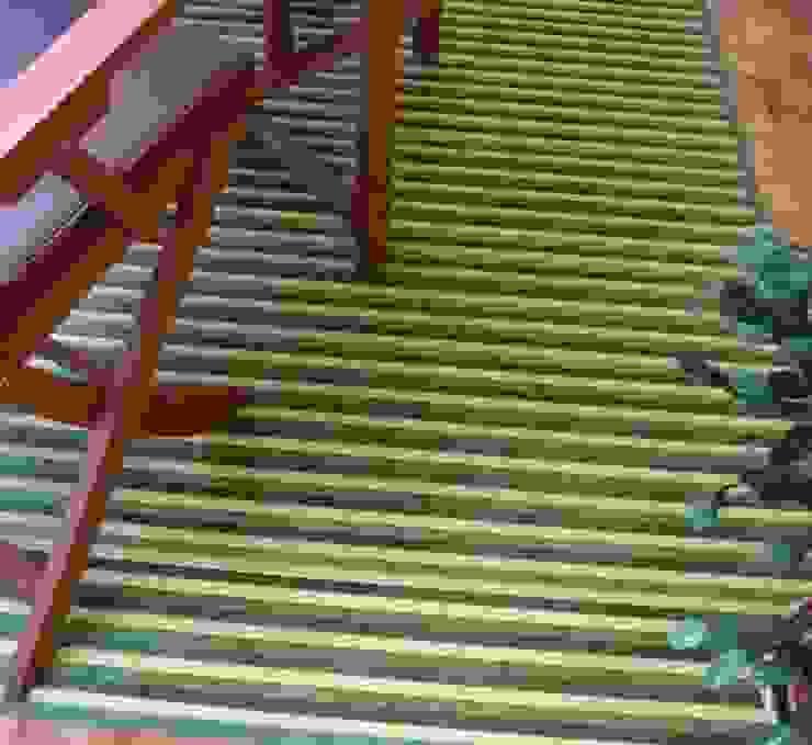 Alfombra de bambú para terraza de latiendawapa Ecléctico