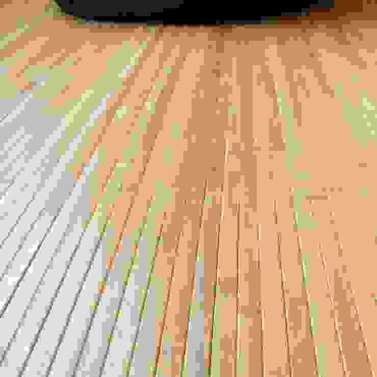 Alfombra de bambú color natural de latiendawapa Ecléctico