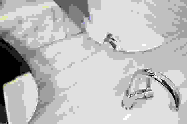 Remont łazienki małym kosztem ANIEA Skandynawska łazienka