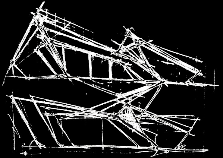 PT - Esquisso, EN - Draft, FR - Croquis por Office of Feeling Architecture, Lda