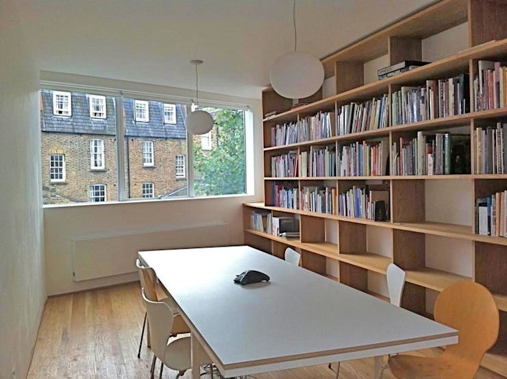 Library Room: modern  by Caseyfierro Architects, Modern