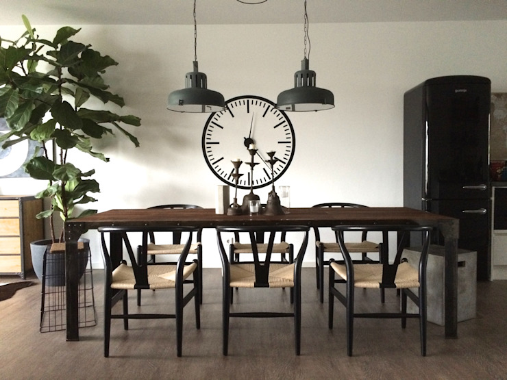 Dining room by Hot Dog Decor Inneneinrichtung & Beratung, Eclectic