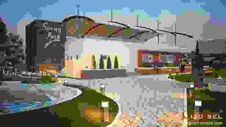 Saray Park Çizgisel Mimarlık Modern