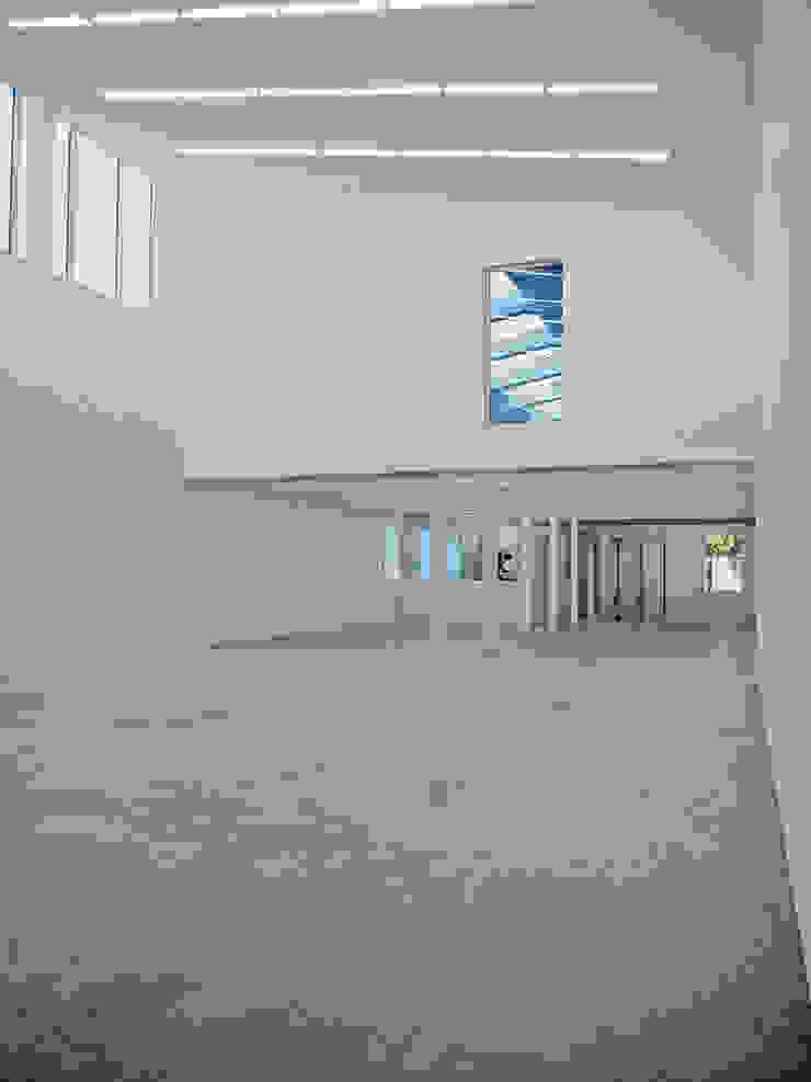 Anish Kapoor Studio Modern study/office by Caseyfierro Architects Modern