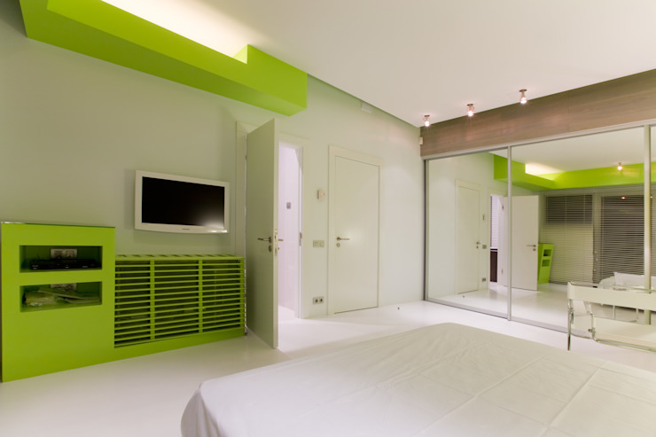 Квартира в Юрмале Спальня в стиле минимализм от ARTRADAR ARCHITECTS Минимализм
