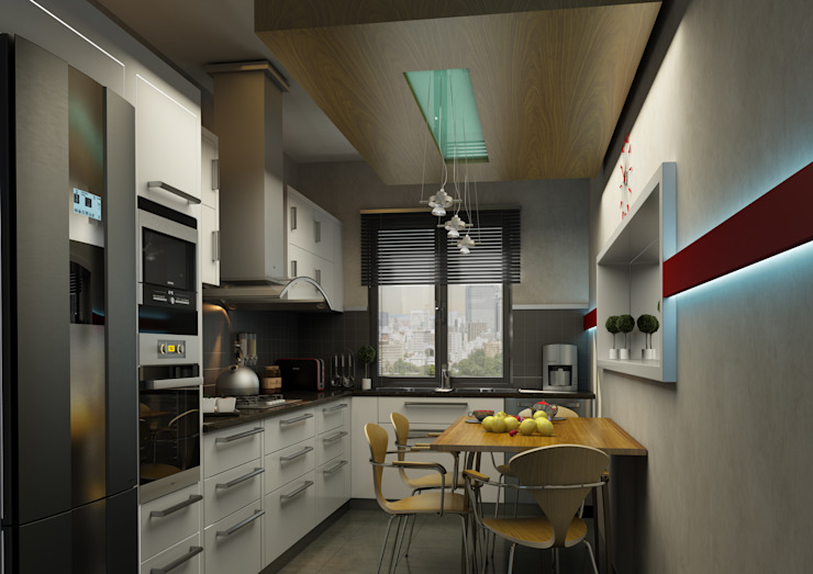 KITCHEN Modern Mutfak BA DESIGN Modern