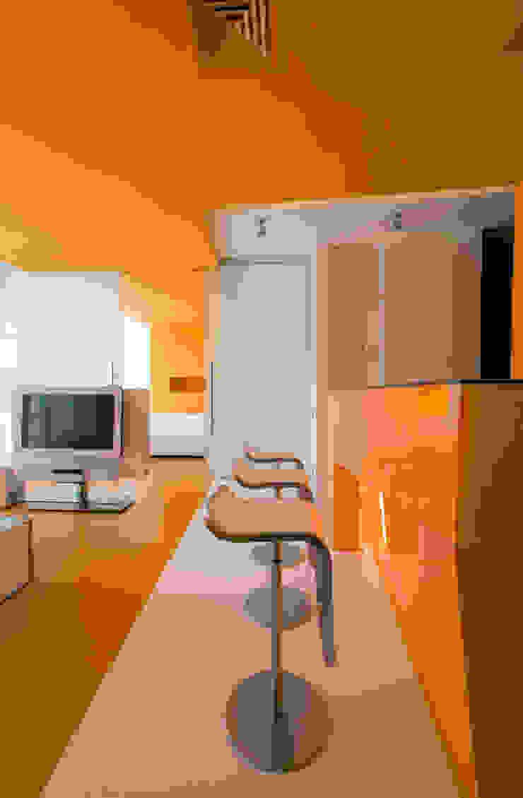 Квартира в Жуковке Гостиная в стиле минимализм от ARTRADAR ARCHITECTS Минимализм