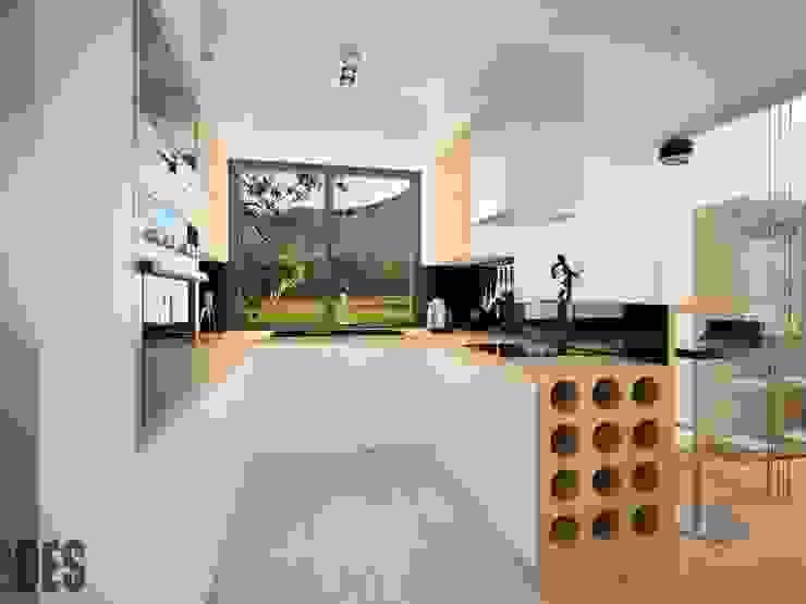Modern style kitchen by OES architekci Modern
