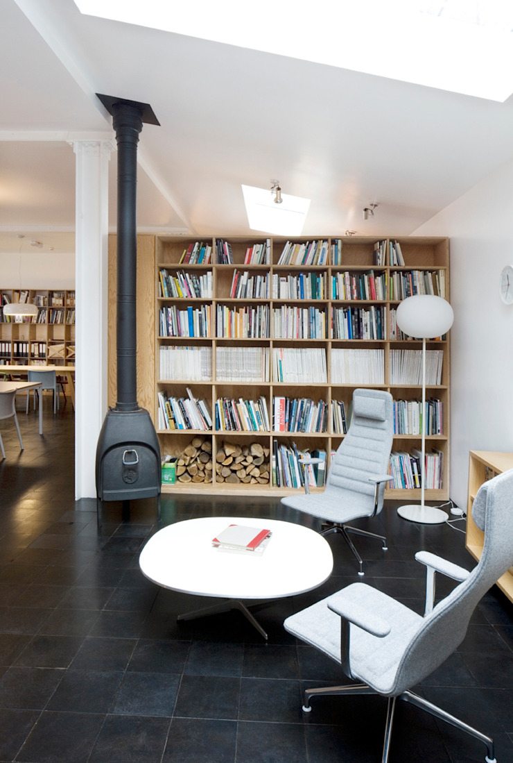 Jasper Morrison Design Office and Studio—London Scandinavian style offices & stores by Caseyfierro Architects Scandinavian