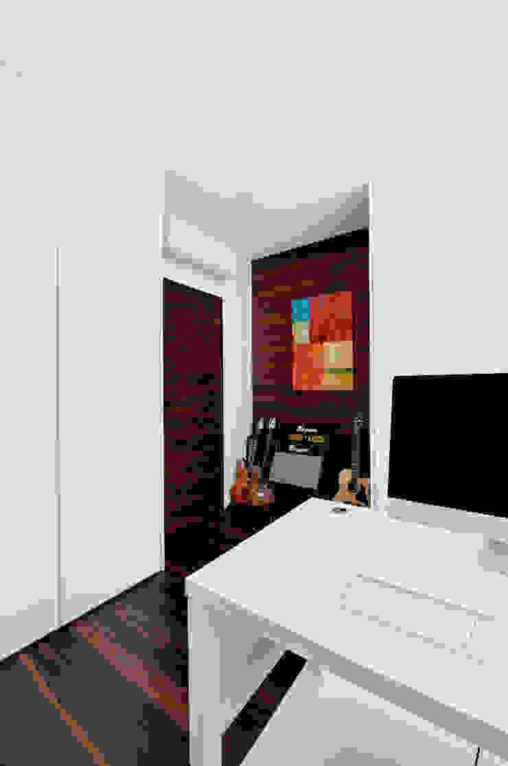 Квартира в Чертаново Рабочий кабинет в стиле минимализм от ARTRADAR ARCHITECTS Минимализм