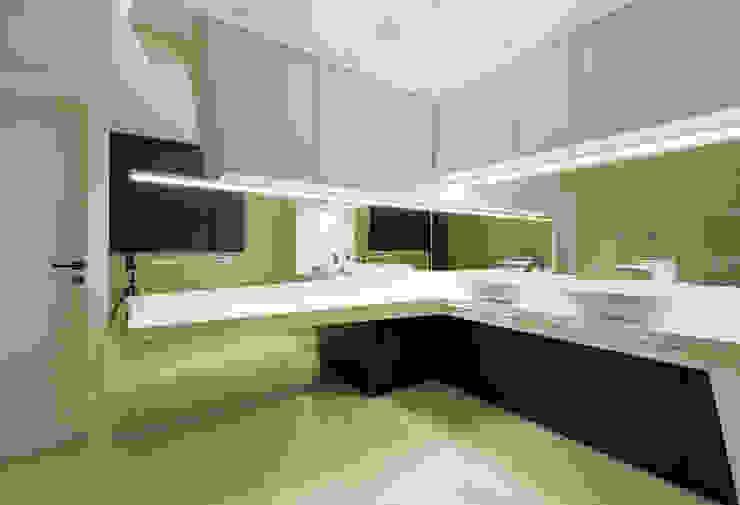 Квартира в Чертаново Ванная комната в стиле минимализм от ARTRADAR ARCHITECTS Минимализм