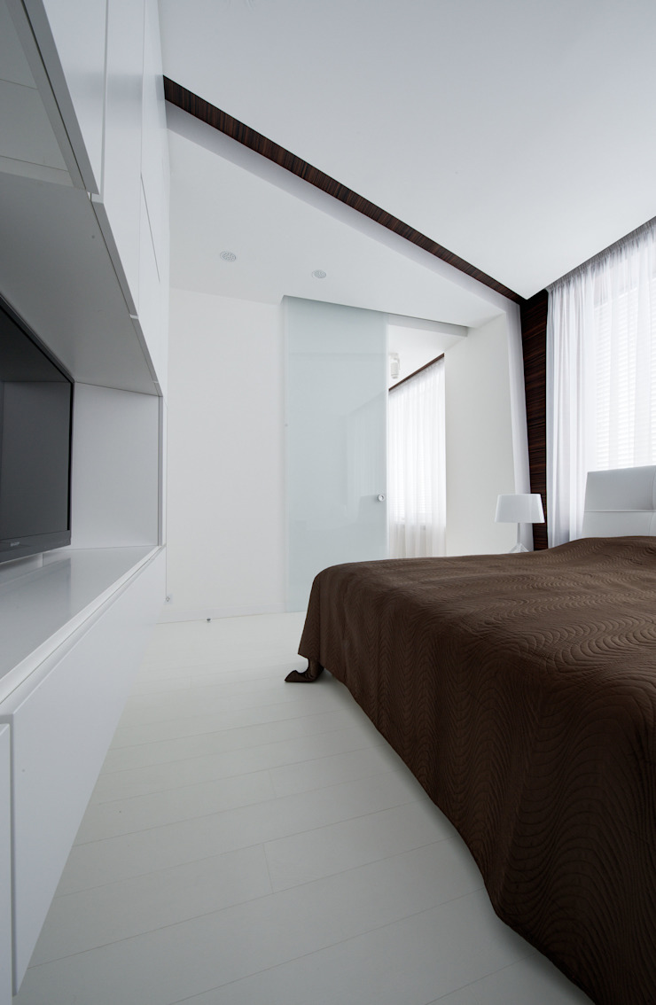 Квартира в Чертаново Спальня в стиле минимализм от ARTRADAR ARCHITECTS Минимализм