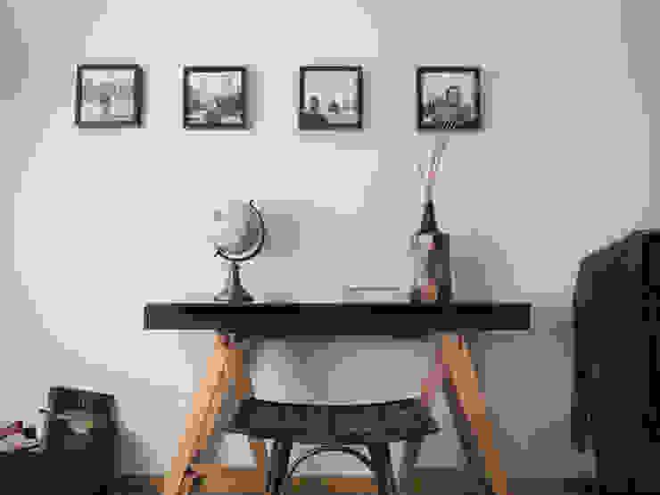 Quarto Terra Colonial - Depois :  colonial por MUDA Home Design,Colonial
