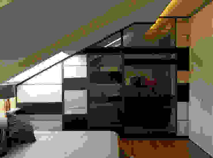 Habitaciones modernas de mg2 architetture Moderno
