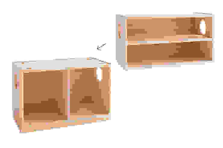 Cube Wagon: tona BY RIKA KAWATO / tonaデザイン事務所が手掛けた現代のです。,モダン