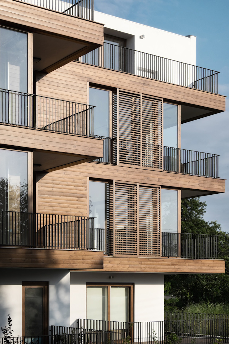 K1 House Front View Modern Evler Atelye 70 Planners & Architects Modern
