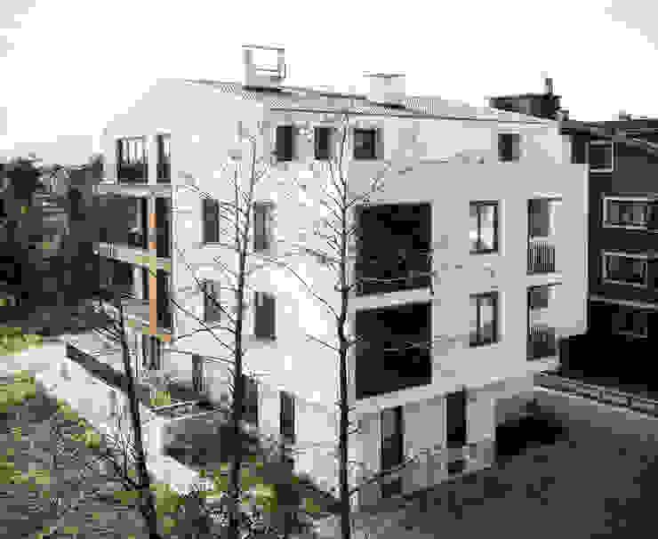Back View Modern Evler Atelye 70 Planners & Architects Modern