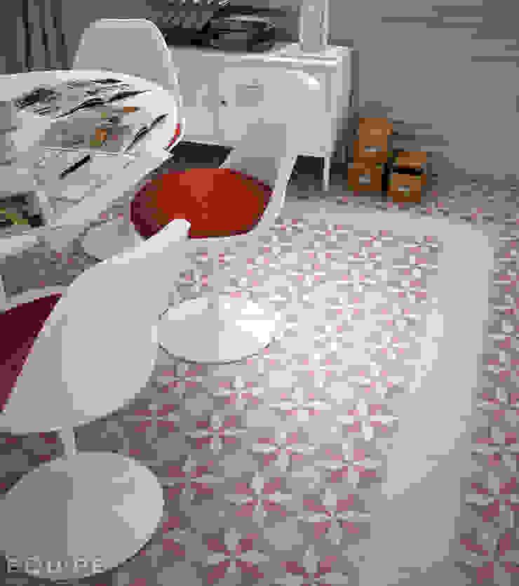Caprice White, DECO Magic Pastel 20x20 Comedores de estilo ecléctico de Equipe Ceramicas Ecléctico