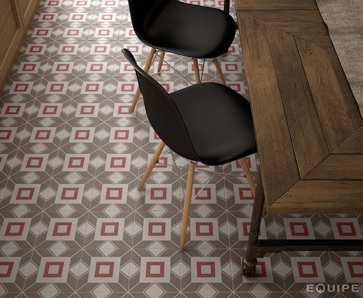 Equipe Ceramicas Eclectic style dining room