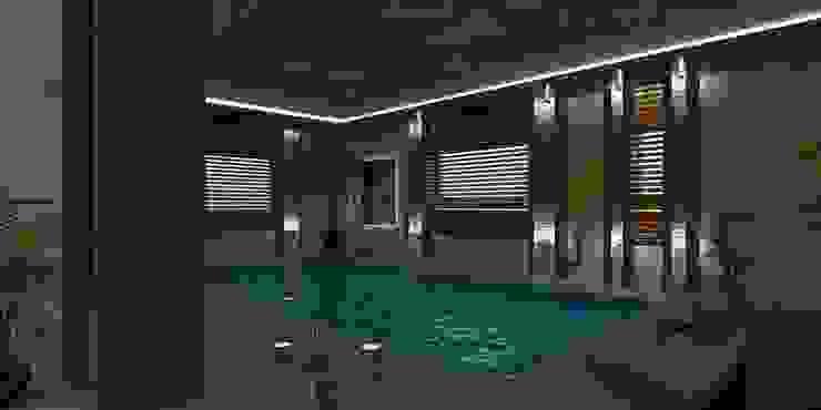 VİLLA N'MODA Modern Havuz CANSEL BOZKURT interior architect Modern