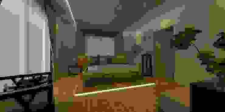 VİLLA N'MODA Minimalist Yatak Odası CANSEL BOZKURT interior architect Minimalist
