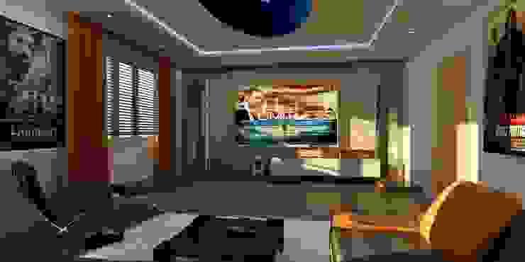 VİLLA N'MODA Akdeniz Oturma Odası CANSEL BOZKURT interior architect Akdeniz