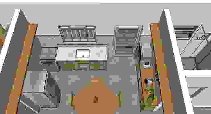 Cozinha Cozinhas rústicas por Natali de Mello - Arquitetura e Arte Rústico