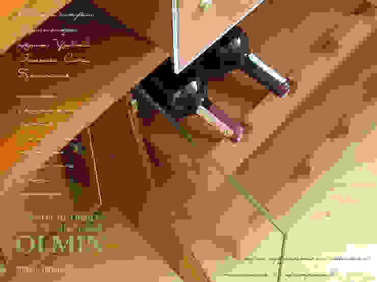 Винный комод – дерево в стекле:  в современный. Автор – ИП OLMIN - Архитектурная студия Олега Минакова, Модерн