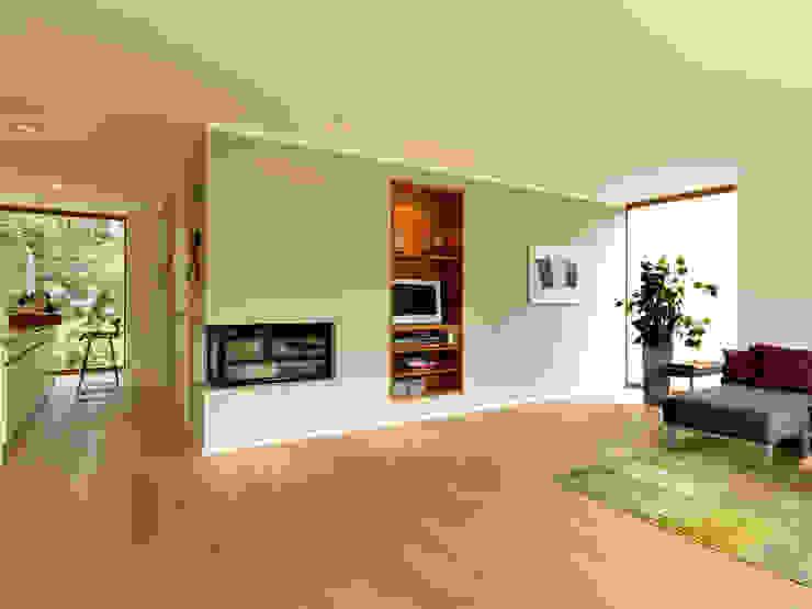 Bermüller + Hauner Architekturwerkstatt:  tarz Oturma Odası,