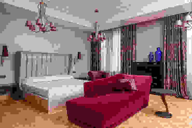 Двухэтажная квартира в Лаврушинском переулке 270 м2 Спальня в классическом стиле от Gallery 63 Классический