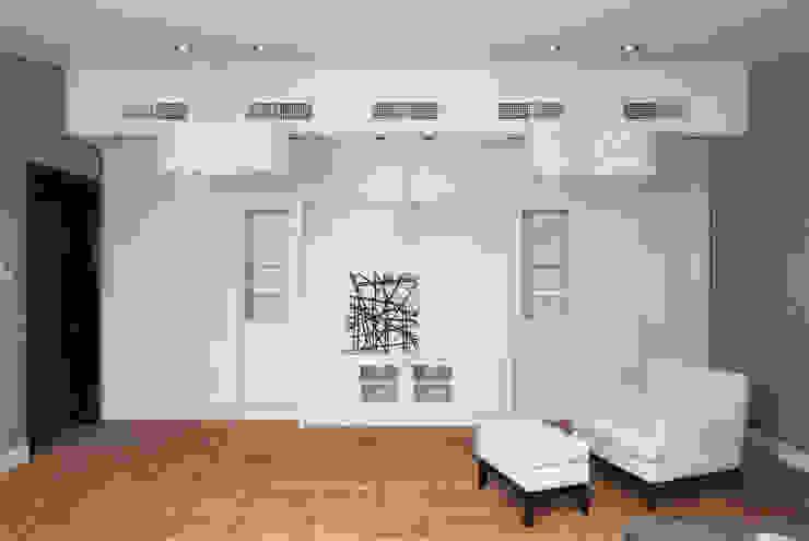 Мансарда в Лаврушинском переулке 130 м2 Спальня в классическом стиле от Gallery 63 Классический