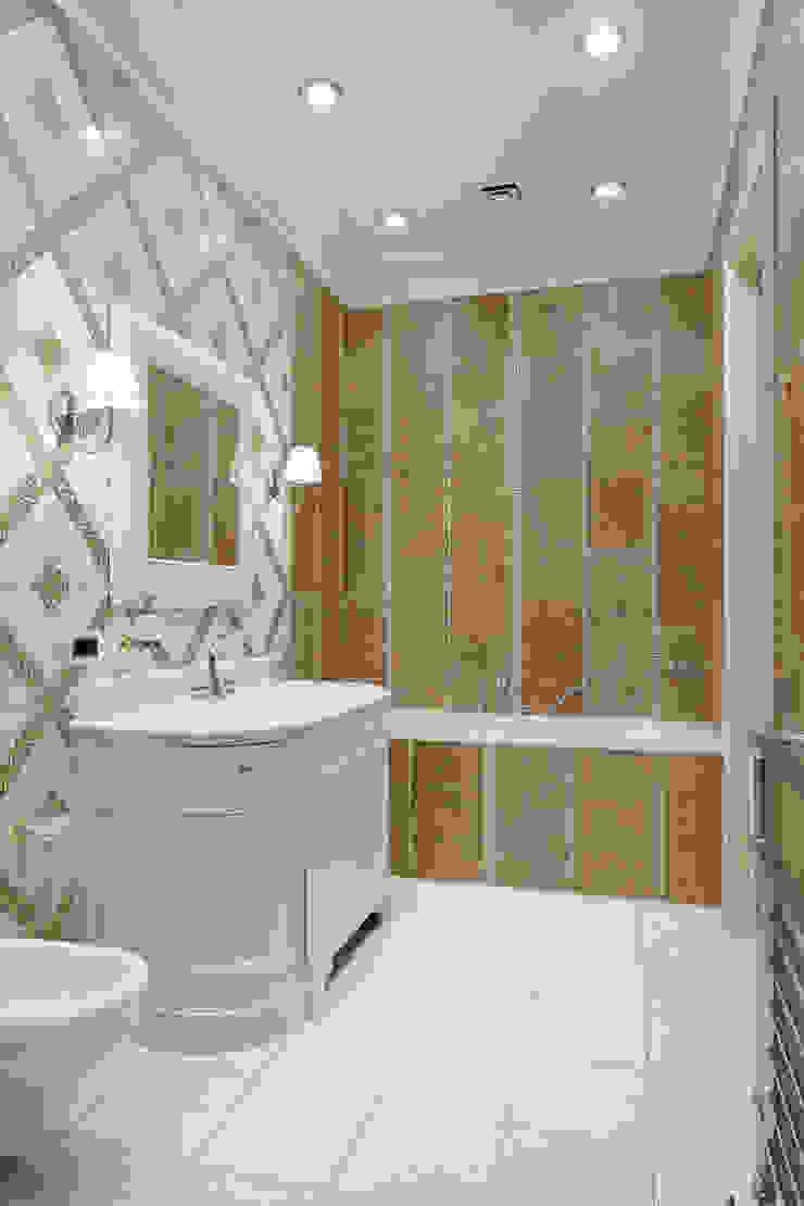 Двухэтажная квартира в Лаврушинском переулке 270 м2 Ванная в классическом стиле от Gallery 63 Классический