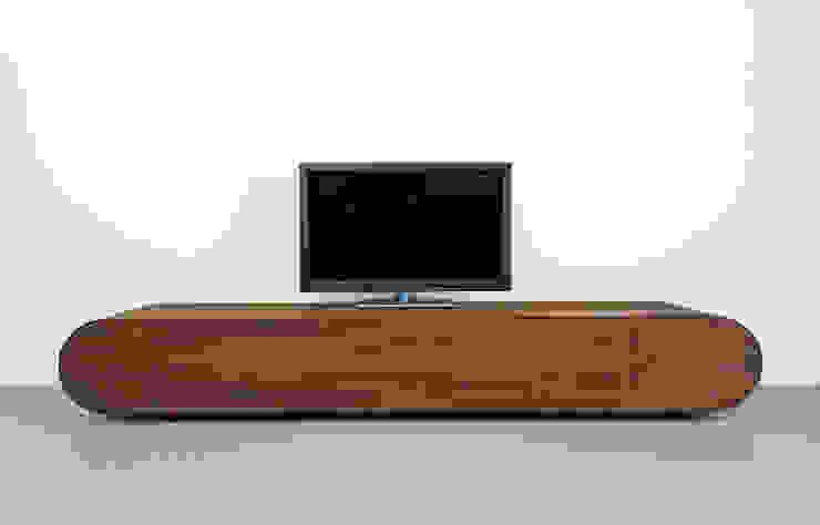 TV meubel Pure - notenhout van RKNL Minimalistisch